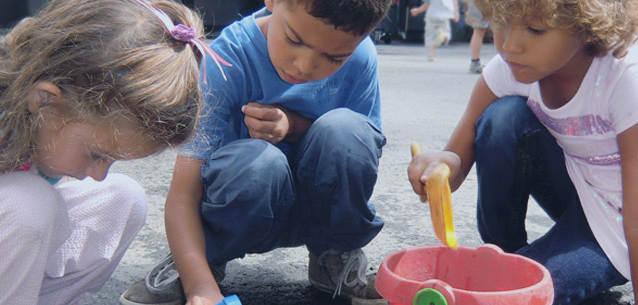 Kindertagesstätte: Kinder – Erasmus Frankfurter Stadtschule – ganztags und trilingual